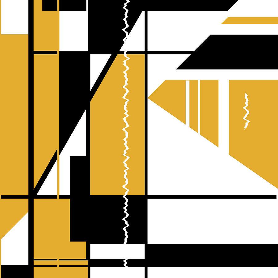 Orange Black 007 by Elastic Pixels