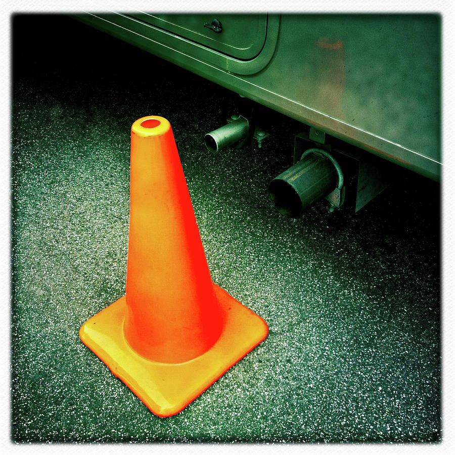Orange Cone by Craig Brewer