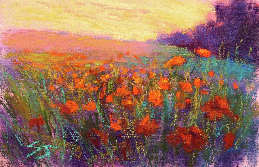 Orange Embrace by Susan Jenkins