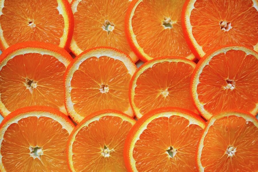 Orange Fruit Slices Photograph by D. Sharon Pruitt Pink Sherbet Photography