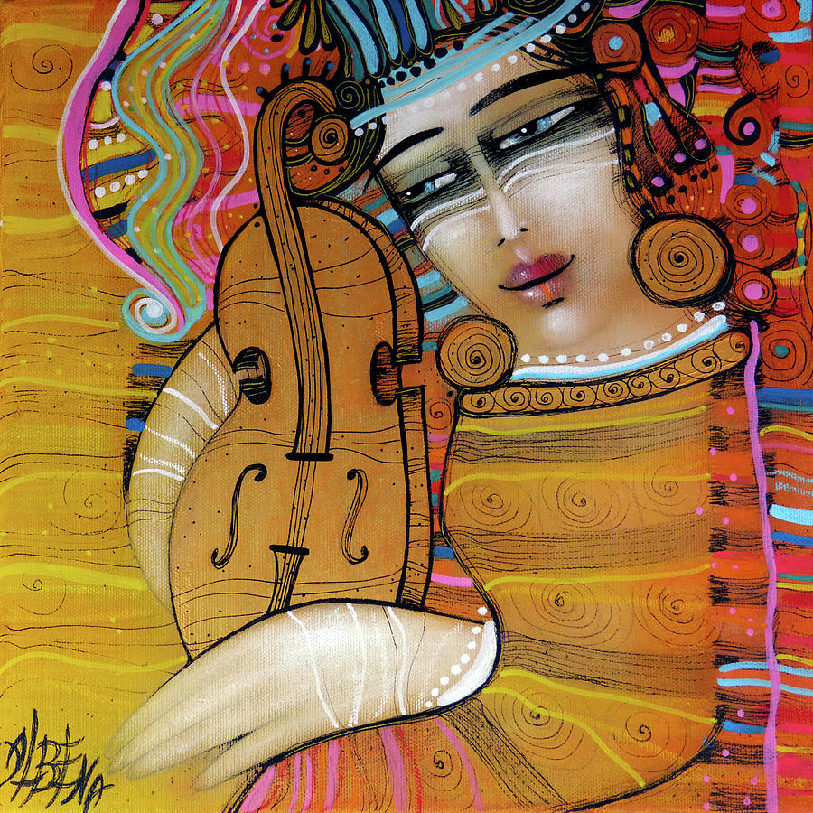 ORANGE MELODY by Albena Vatcheva