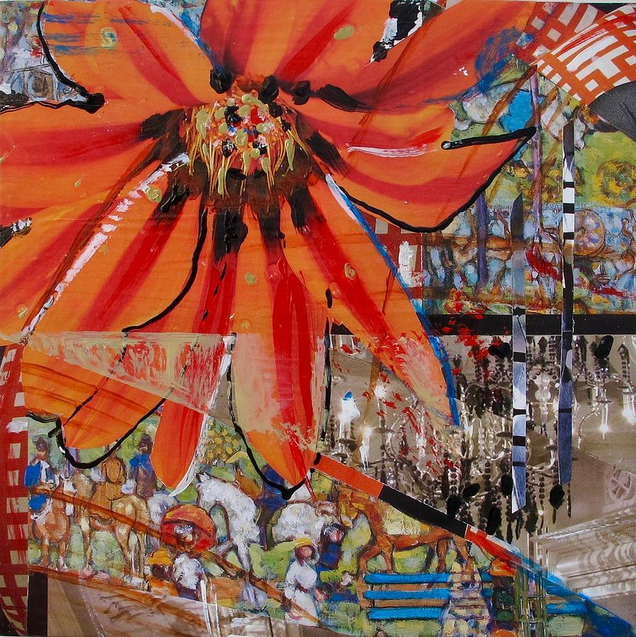 Mixed Media Mixed Media - Orange Released by Denise Theissen