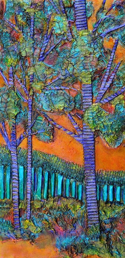 Orange Sky #2 by Carla Carlson