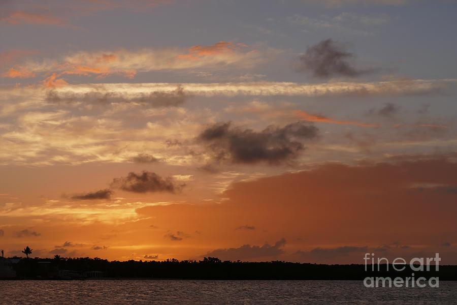 Orange Sky After Sunset by Catherine Sherman