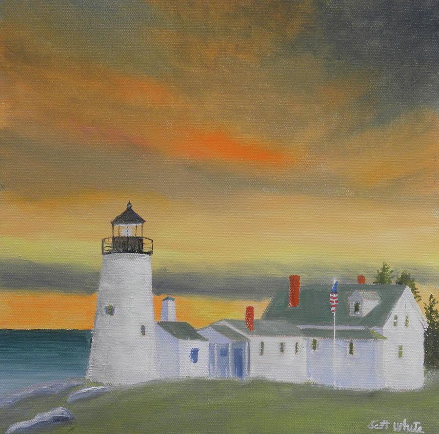orange sky by Scott W White