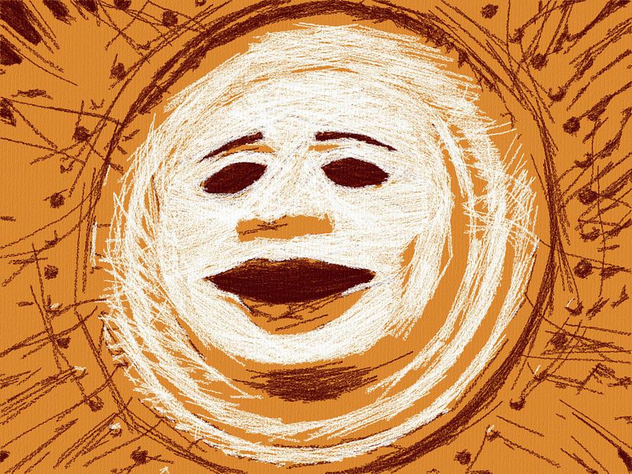 Orange Sun by Alice Gipson
