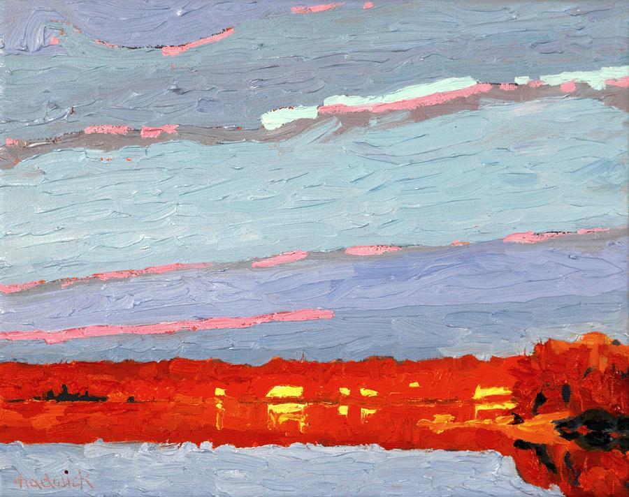 Orange Sunrise by Phil Chadwick