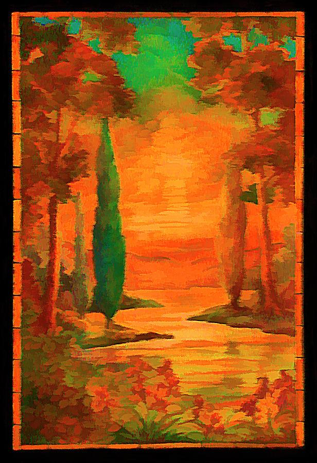 Orangelic by Rick Wicker