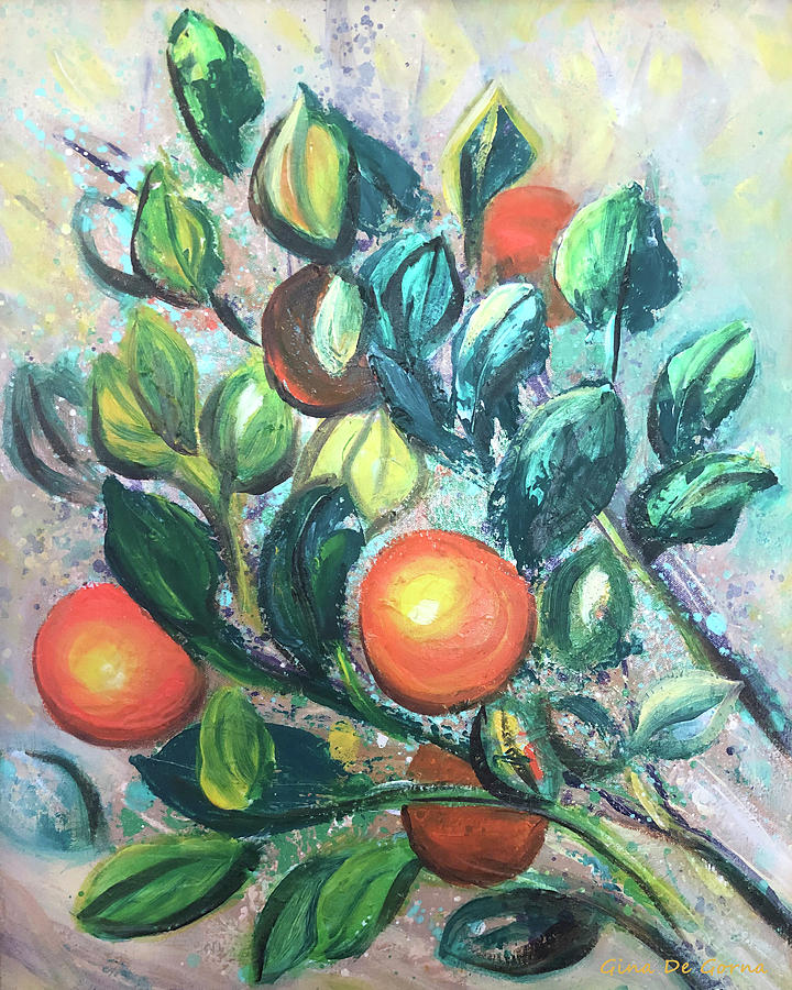 Oranges by Gina De Gorna