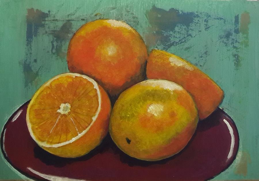 Oranges by Jacqui Simpson