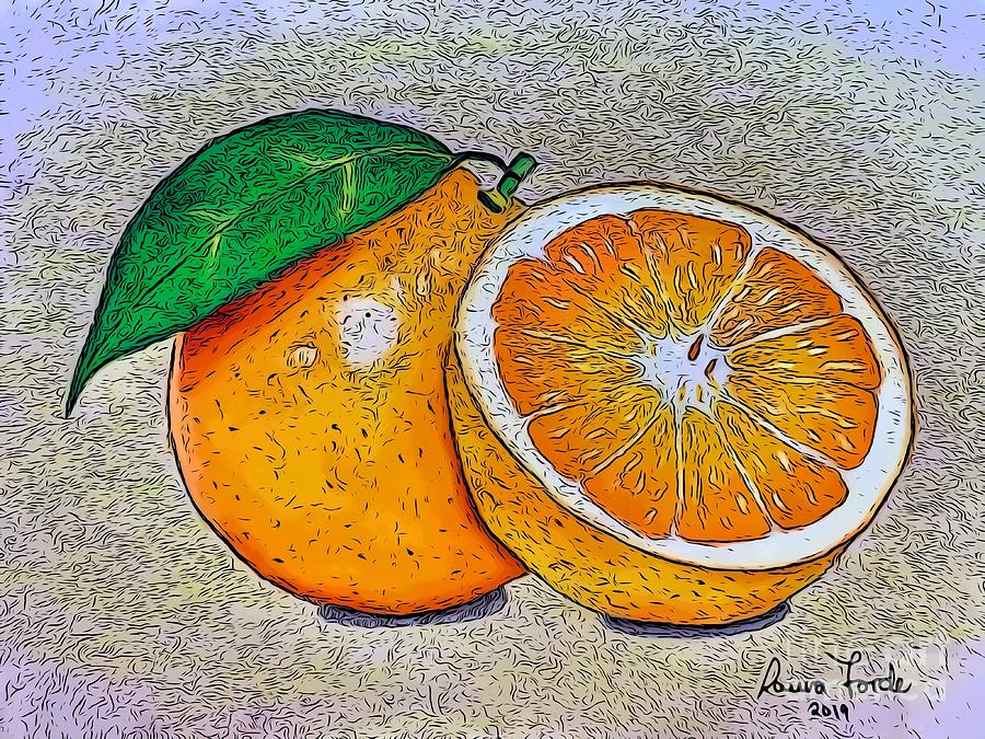 Oranges by Laura Forde