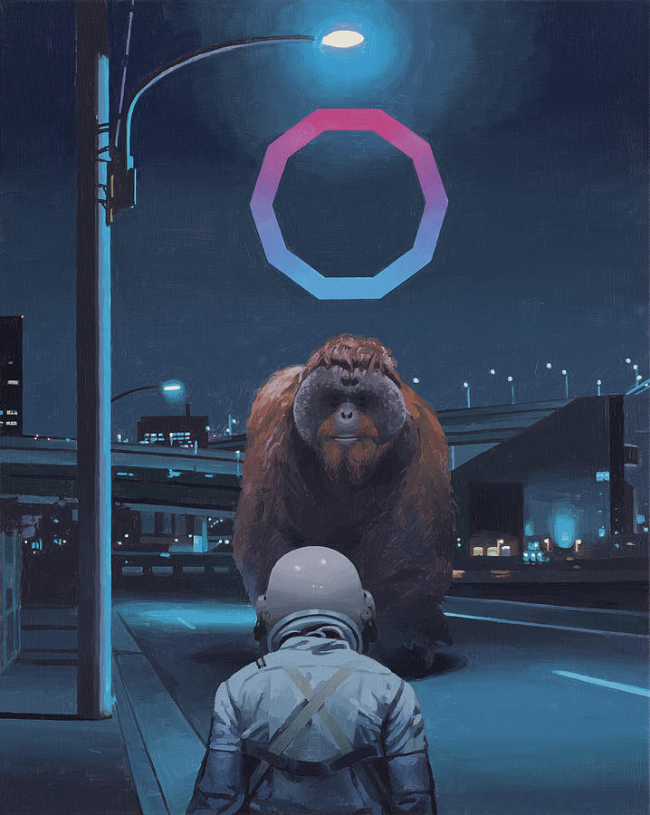 Orangutan by Scott Listfield