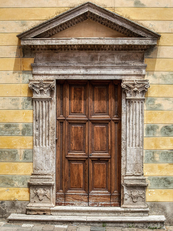 Ornate Door of Tuscany by David Letts