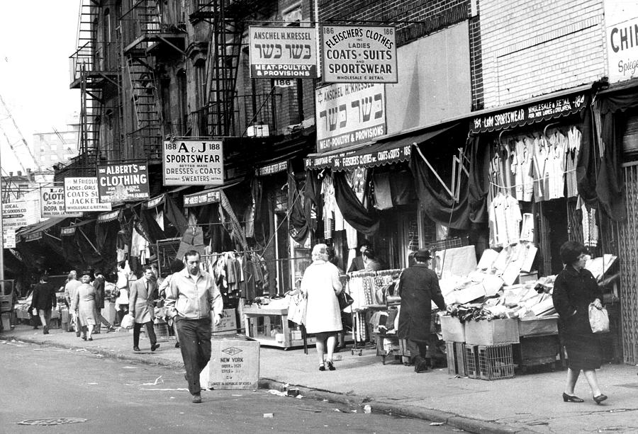 Orchard Street Market On The Lower East Photograph by New York Daily News Archive