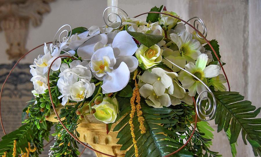 Orchid Bouquet by Edward Shmunes