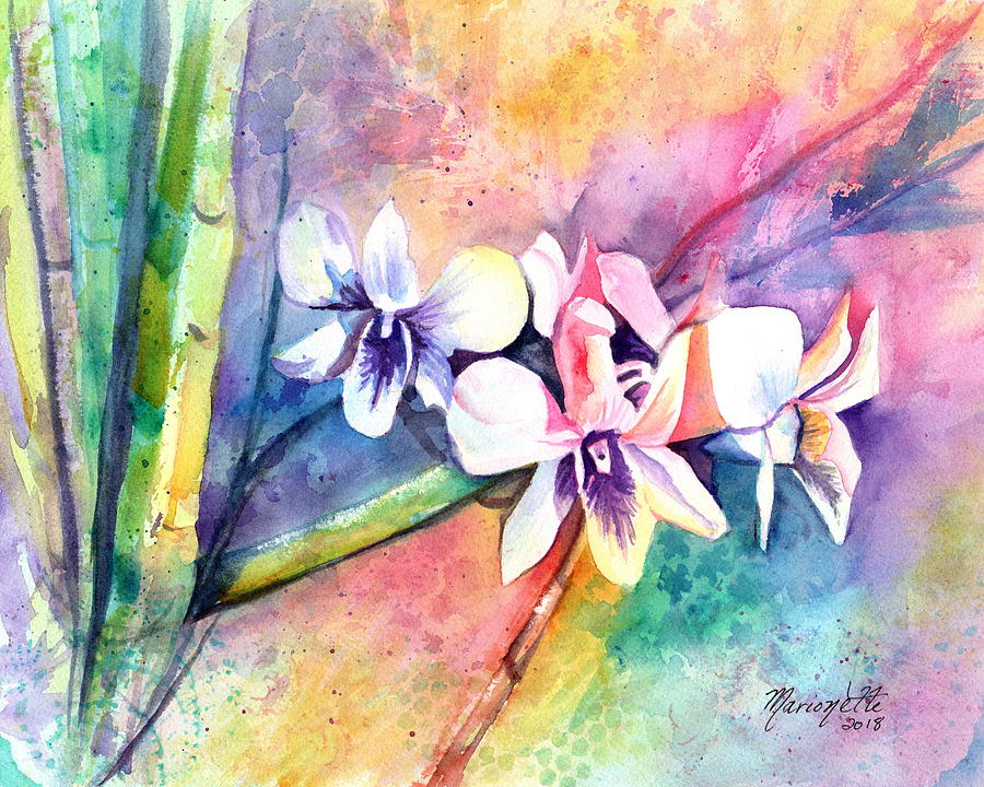 Orchid Fun by Marionette Taboniar