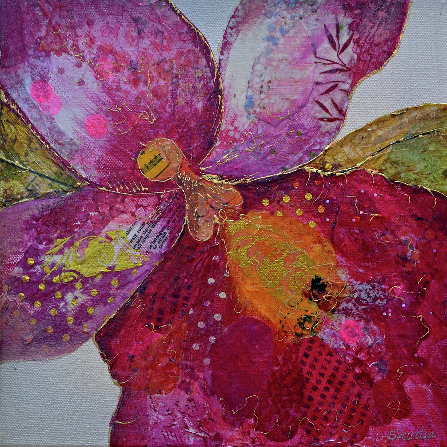 Orchid Passion I Painting