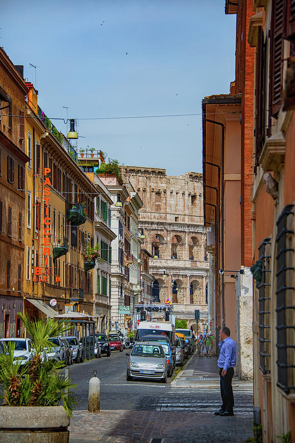 Colosseum Photograph - Ordinary Day by Joseph Yarbrough