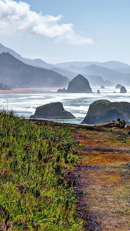 Oregon Coast Formations Photograph