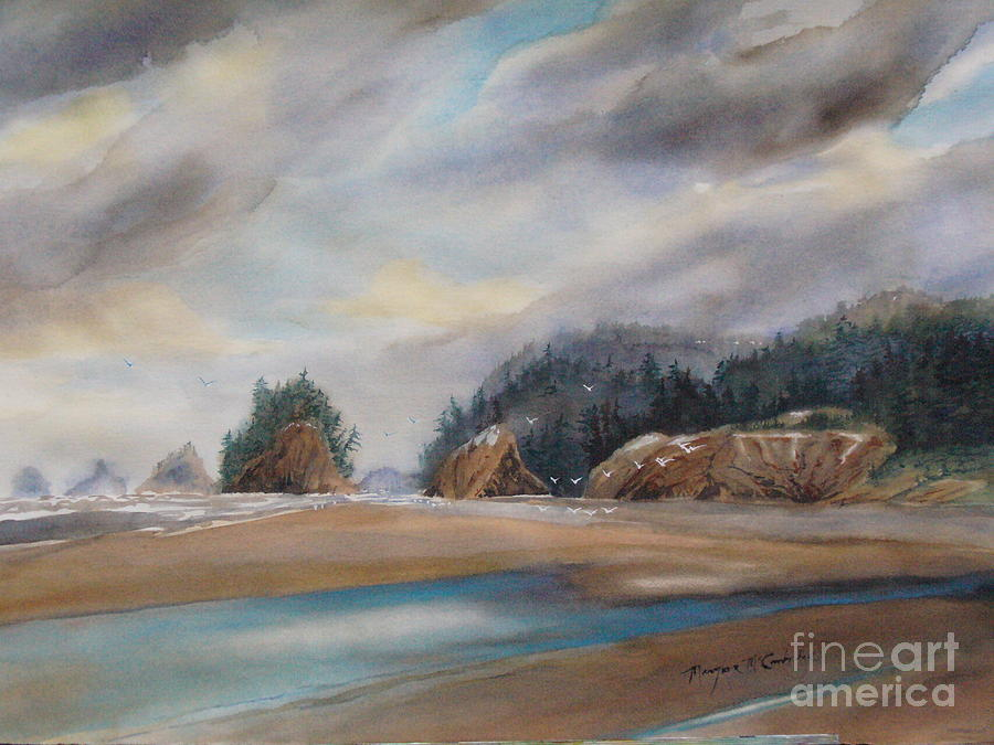 Oregon Coast by Mary Lou McCambridge