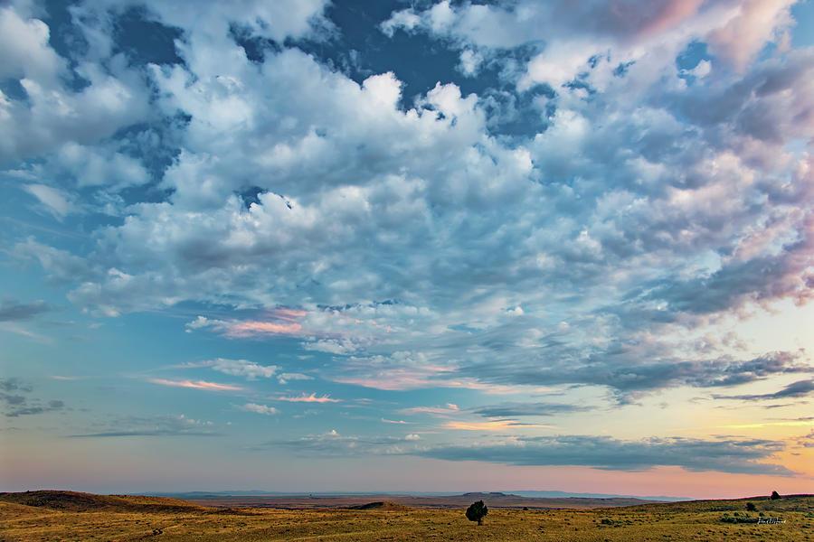 Beautiful Photograph - Oregon High Desert Cloudscape by Leland D Howard