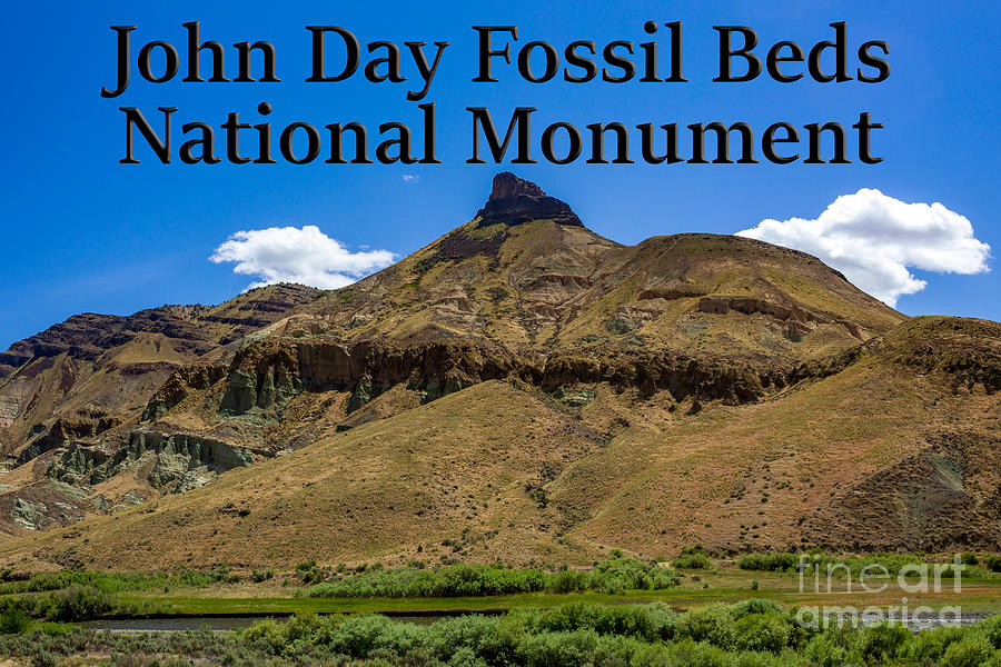 Oregon Photograph - Oregon - John Day Fossil Beds National Monument Sheep Rock 2 by G Matthew Laughton