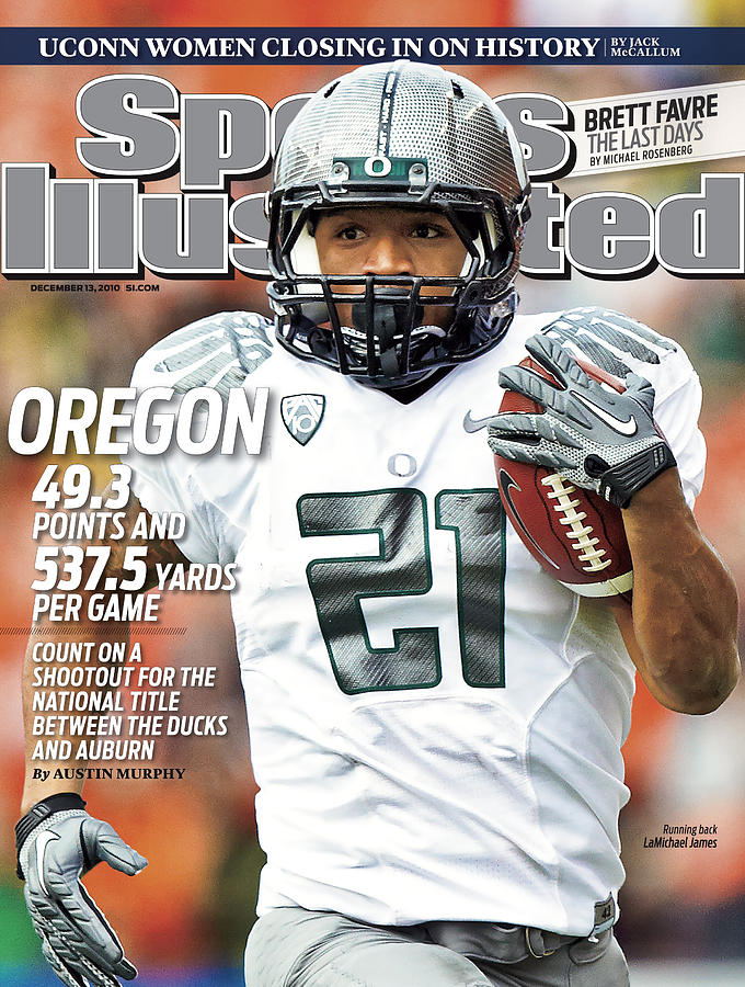 Oregon State University Vs University Of Oregon Sports Illustrated Cover Photograph by Sports Illustrated