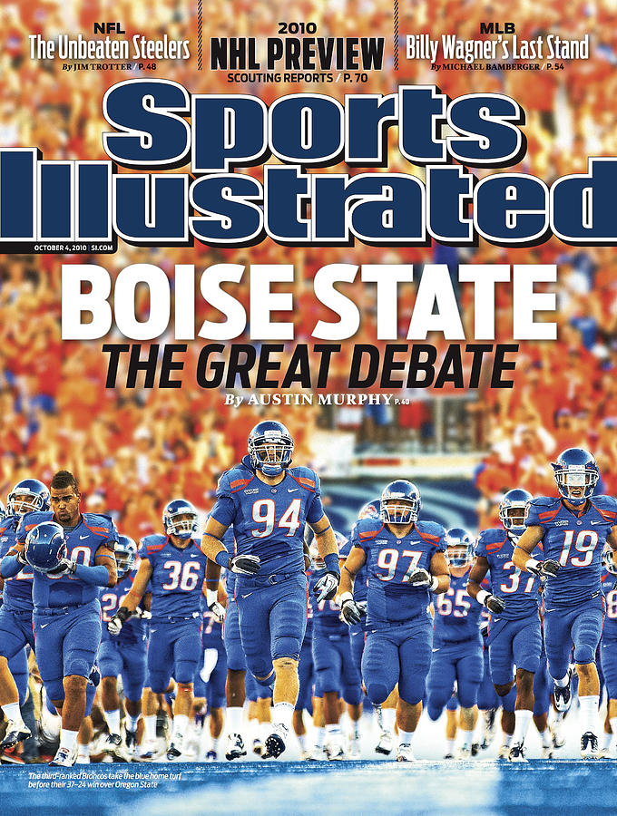 Oregon State V Boise State Sports Illustrated Cover Photograph by Sports Illustrated