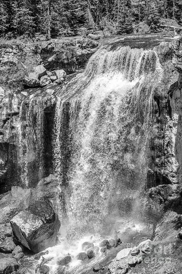 Oregon Wall Art, Oregon Print, Oregon Art, Pacific Northwest, Paulina Falls, Waterfall Art, Travel,  by David Millenheft
