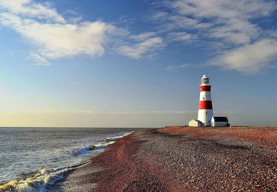 Orford Ness Lighthouse Photograph by Photo By Andrew Boxall