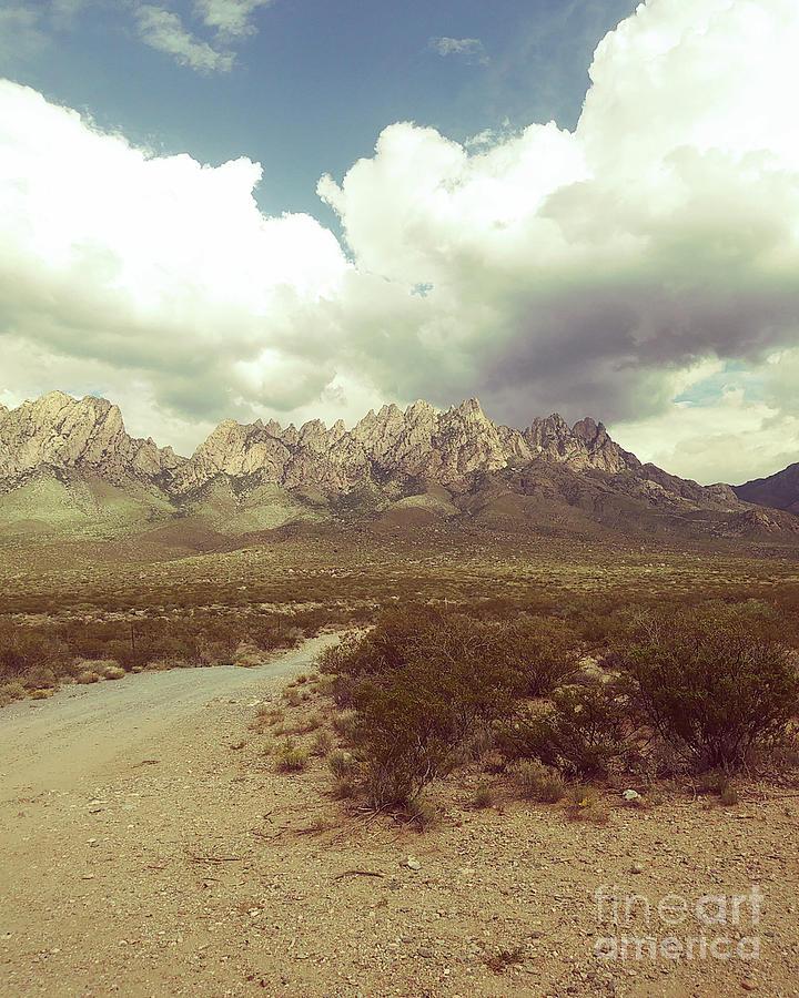 Organ Mountain Back Road Painting