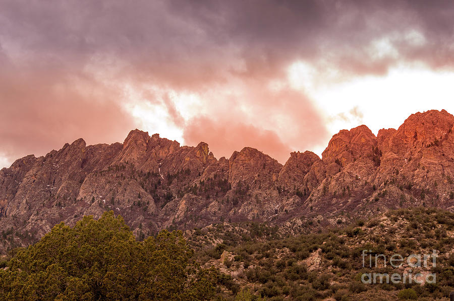 Organ Mountains Las Cruces by Blake Webster
