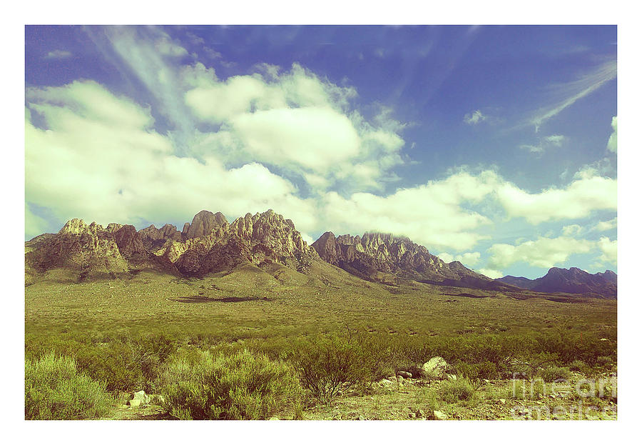 Organ Mountains New Mexico by Jack Pumphrey