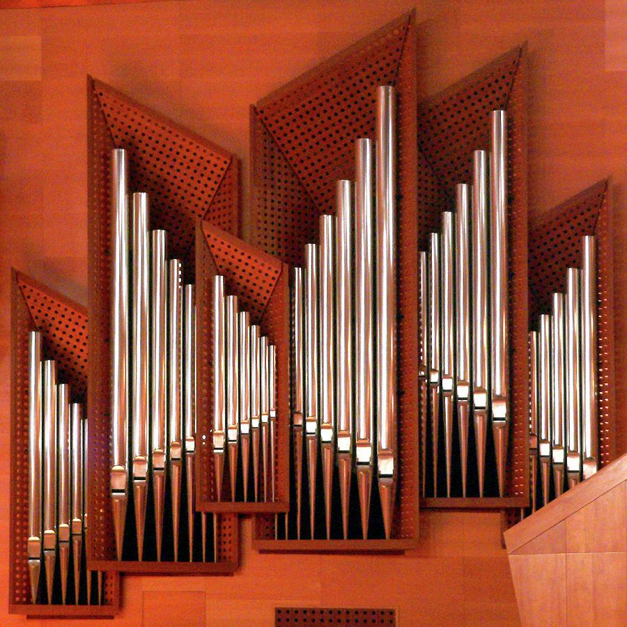 Organ Of Bilbao Jauregia Euskalduna Photograph by Juanluisgx