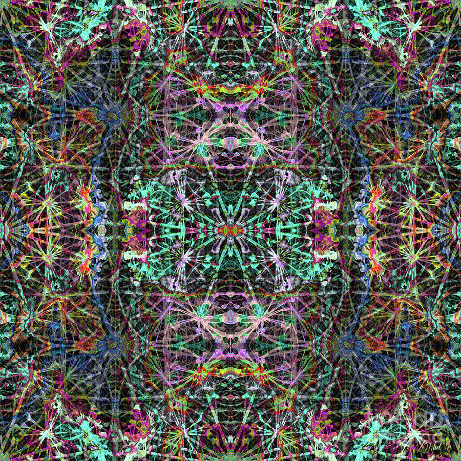 Fractal Organelles, No. 1 by Walter Neal