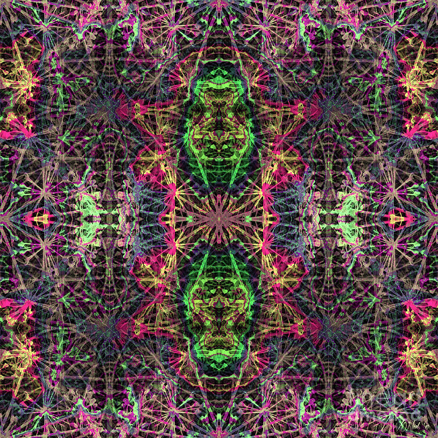 Fractal Organelles, No. 4 by Walter Neal