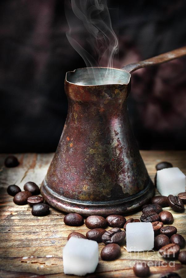 Oriental coffee pot by Jelena Jovanovic