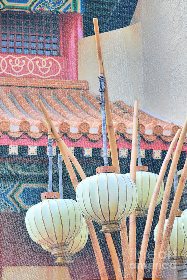 Oriental Influence Digital Paint Photograph