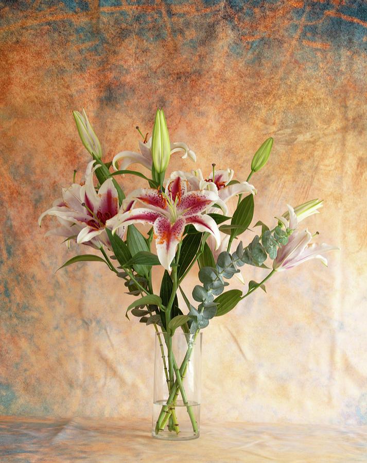 Oriental Lily Bouquet by Jennifer Wick