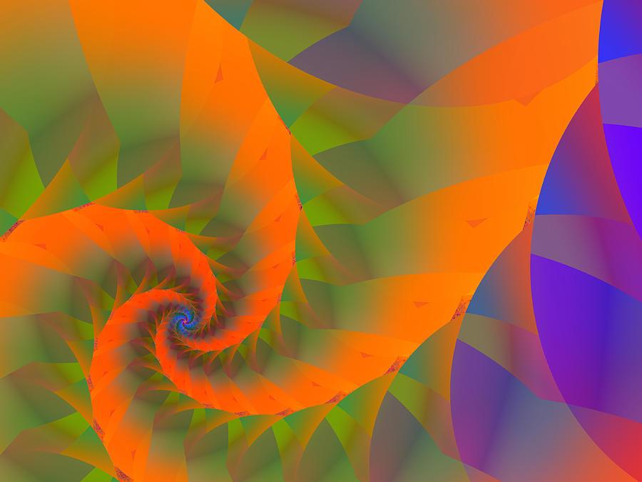 Origami Spiral by Blair Gibb