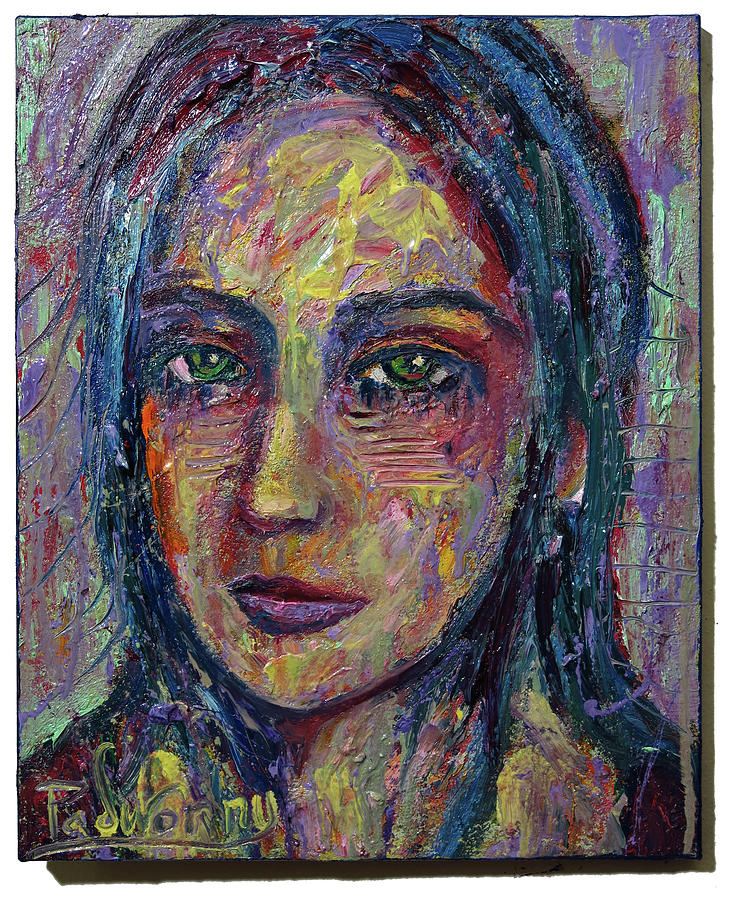 Original Abstract Art For Sale Expressionism Gallery Large Nyc Impasto Face Art Portrait Buy Picasso