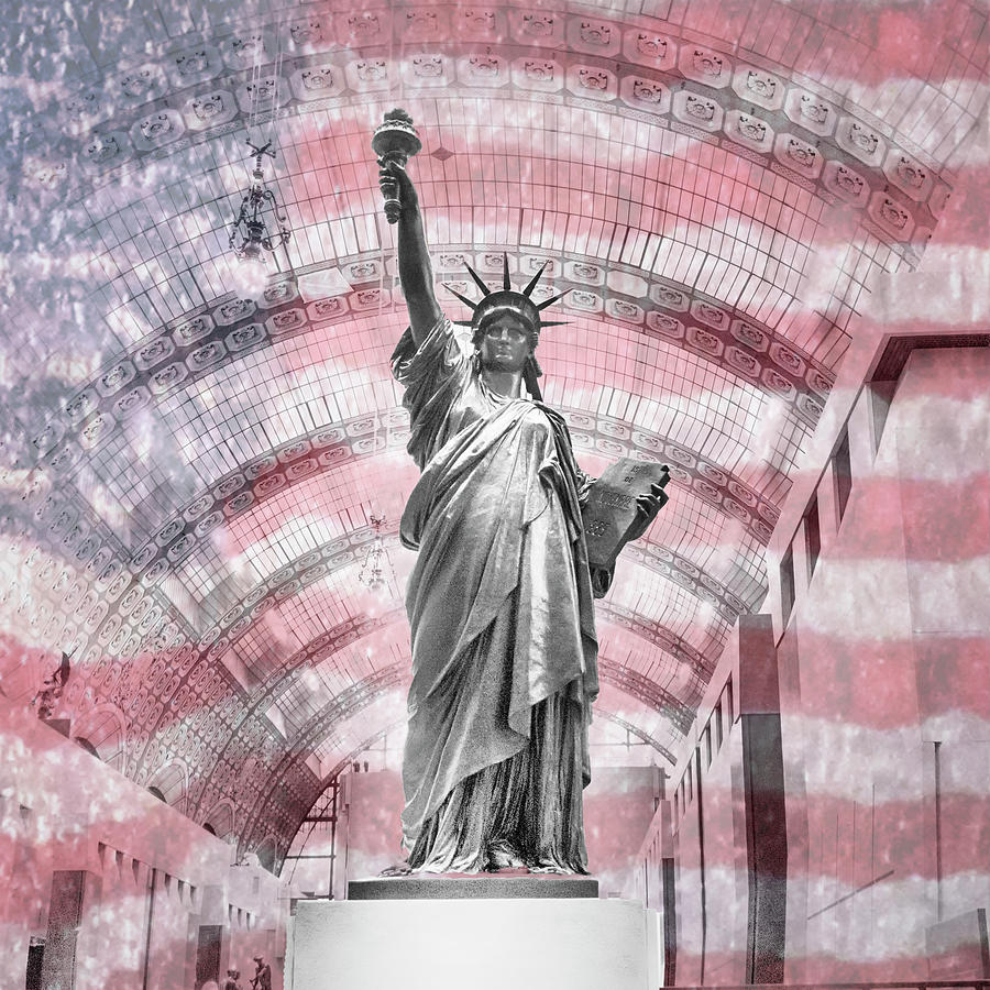 Statue Of Liberty Photograph - Origins by Jessica Levant