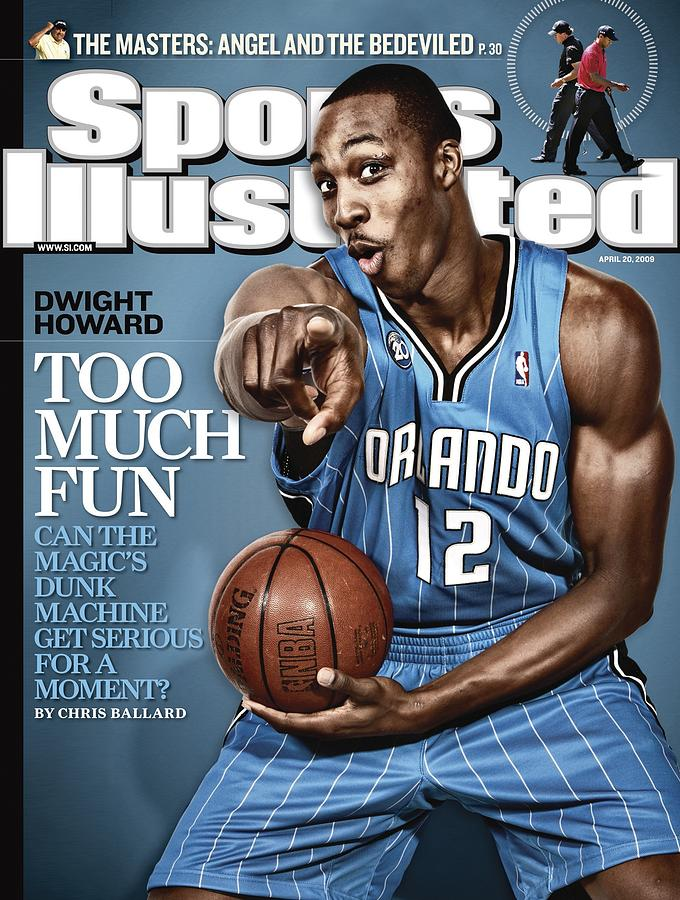 Orlando Magic Dwight Howard Sports Illustrated Cover Photograph by Sports Illustrated