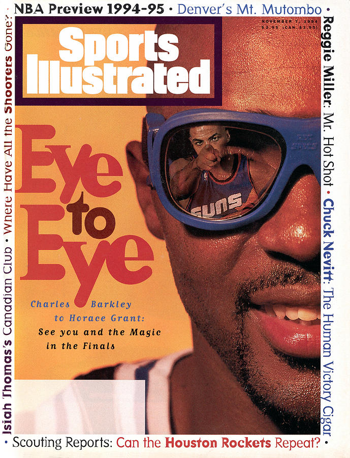 Orlando Magic Horace Grant, 1994-95 Nba Basketball Preview Sports Illustrated Cover Photograph by Sports Illustrated