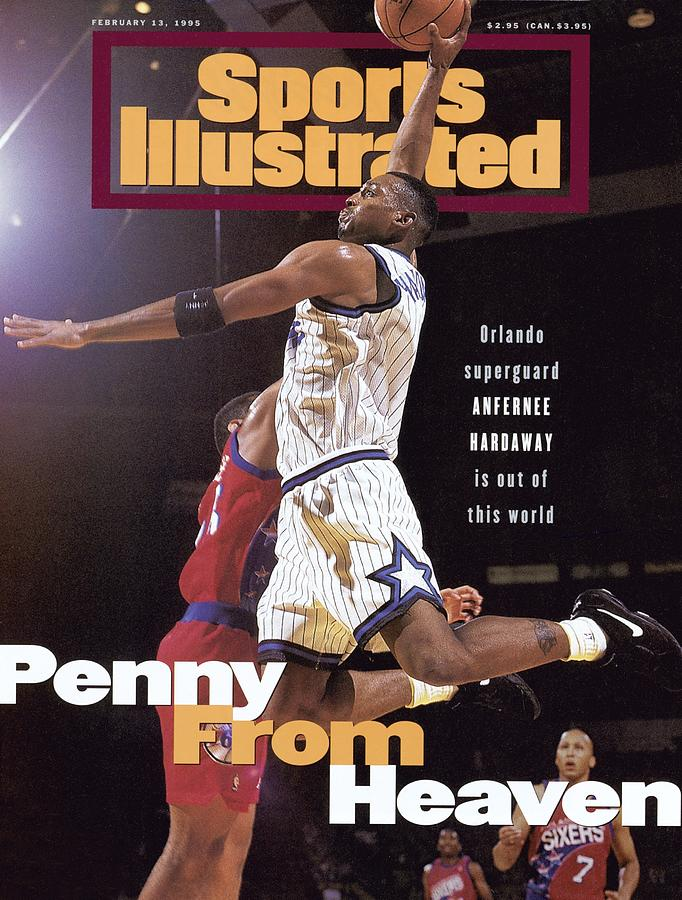 Orlando Magic Penny Hardaway Sports Illustrated Cover Photograph by Sports Illustrated