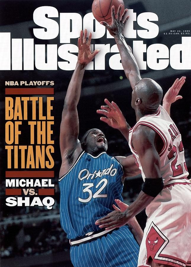 Orlando Magic Shaquille Oneal, 1995 Nba Eastern Conference Sports Illustrated Cover Photograph by Sports Illustrated