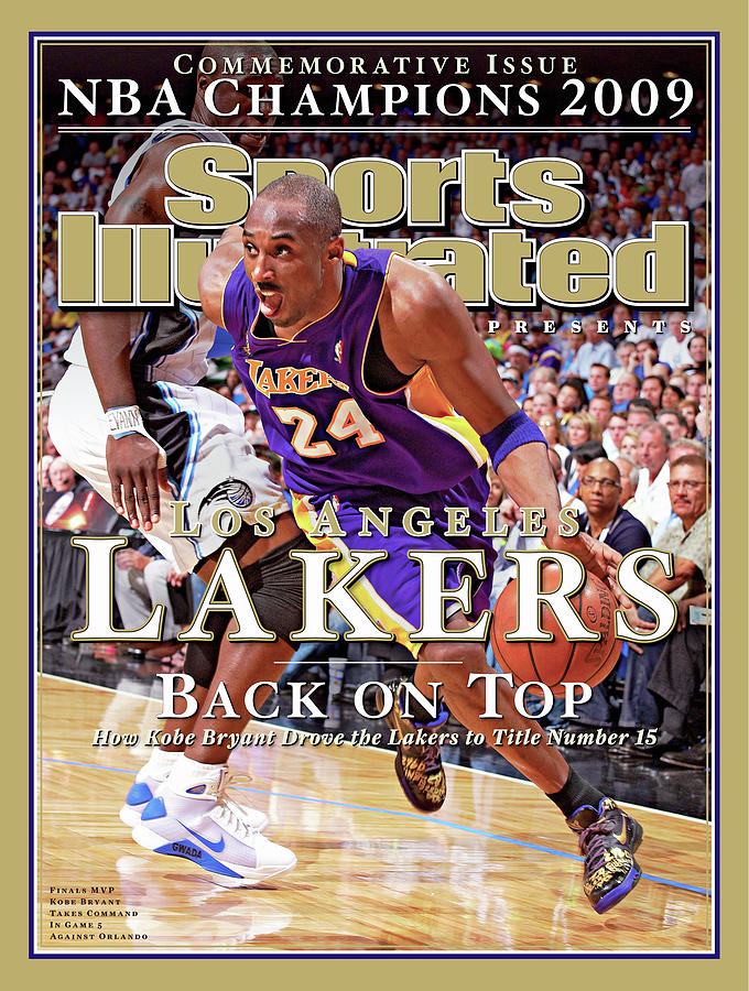 Orlando Magic Vs Los Angeles Lakers, 2009 Nba Finals Sports Illustrated Cover Photograph by Sports Illustrated