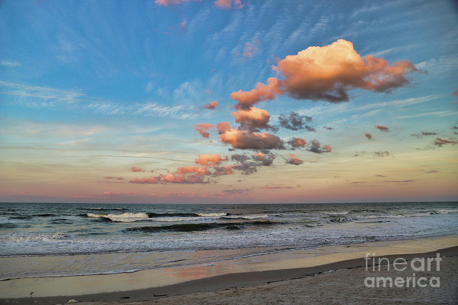 Ormond Beach Photograph - Ormond Beach Sunset by Kelly Pennington