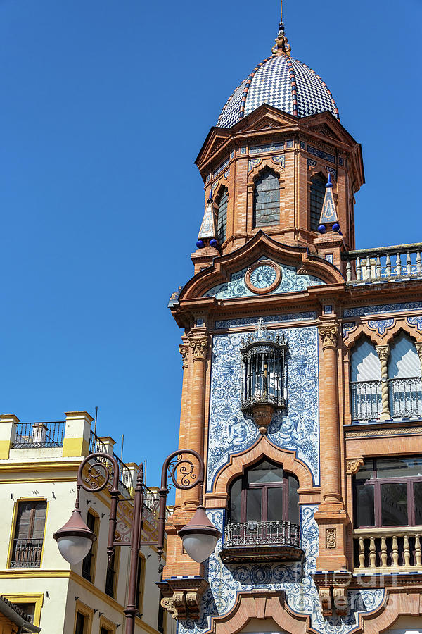 Ornate Building In Seville, Spain Photograph