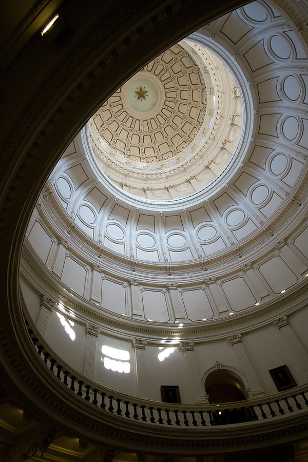 Ornate Round Dome Of The Capital Photograph by Wpcg
